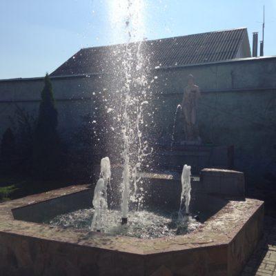 Реконструкция фонтана п. Грайворон
