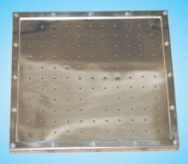 Плато аэромассажное из нерж. стали (универ.квадрат) M.G 600-2 Н KV