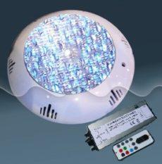 Подводный светильник светодиодный RGB (многоцветный) из ABS-пластика 12Вт POOL KING TLQP-LED12